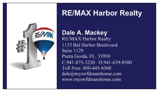 Dale Mackey, Realtor, RE/MAX Harbor Realty