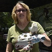 Sue G. - Outreach Coordinator and Tour Guide
